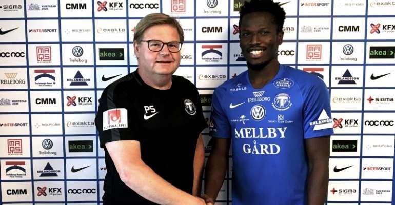 OFFICIAL: Abdul Fatawu Safiu Seals Move From Kotoko To Swedish side Trelleborgs FF