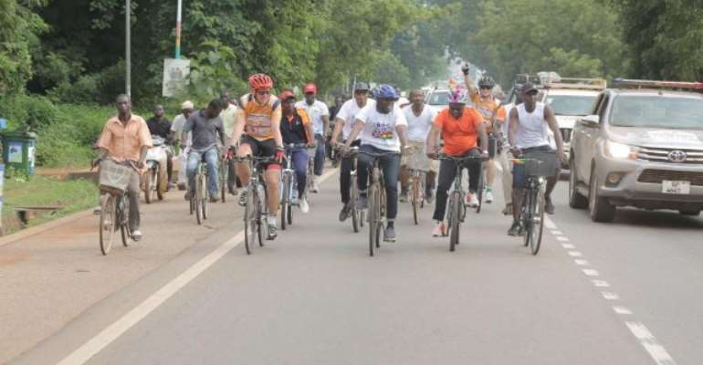 GhanaGrand Tour: Iain Walker Leaves Tamale In Day 5