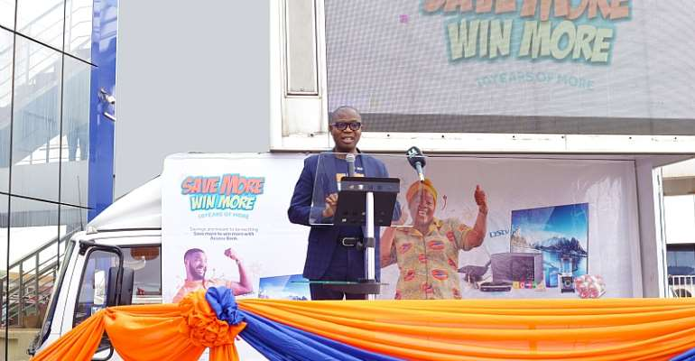 Stephen Abban – Divisional Head, Retail Banking speaking on behalf of the MD