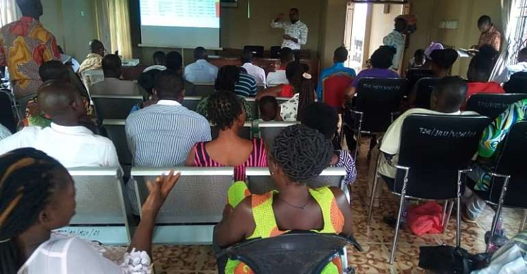Tain Revenue Collectors Receives In-Service Training