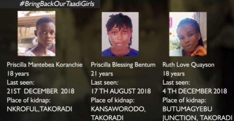 Acting IGP Visits Families Of Takoradi Missing Girls Today
