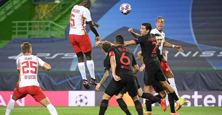 Thomas Partey's Atl. Madrid Out Of UCL After 2-1 Defeat To Leipzig