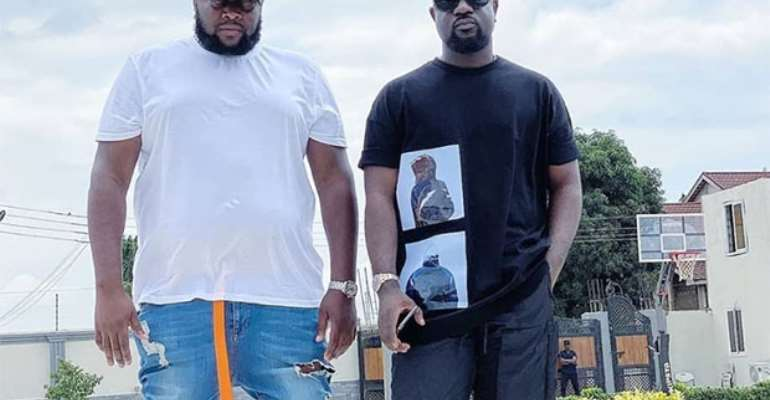 Angel and Sarkodie