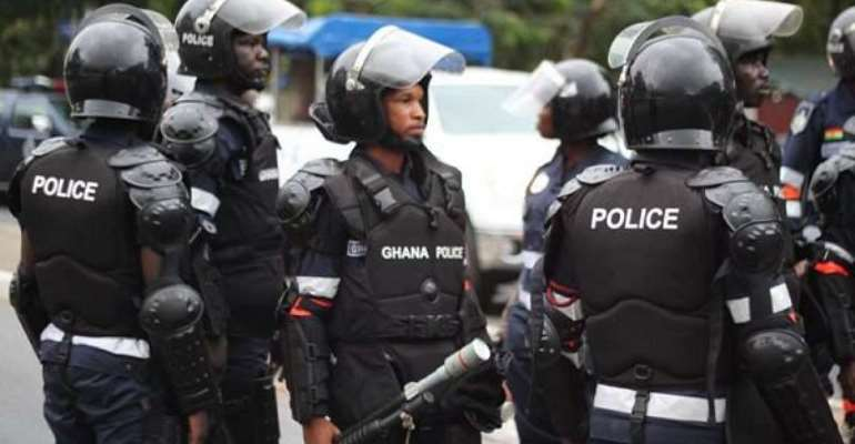 Police Officer Accidentally Shot And Killed Colleague In Dormaa West District