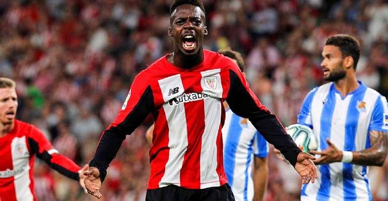 Ghanaian Striker Inaki Williams Tests Positive For COVID-19