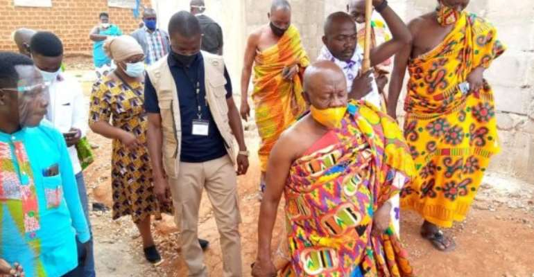 Desist From Shoddy Works — Ogyeahoho Gyebi II To GNPC Project Contractors