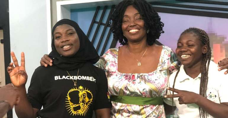 Madam Elizabeth Safoa King Encourages Ghanaian Female Athletes