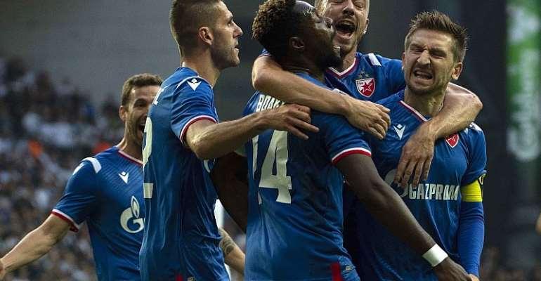 Boakye-Yiadom Lauds Red Star Belgrade Team Spirit After Copenhagen Win In UCL