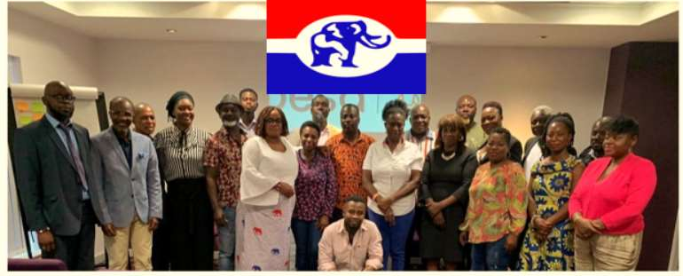 Representatives who attended the NPP training day in Dunstable, UK