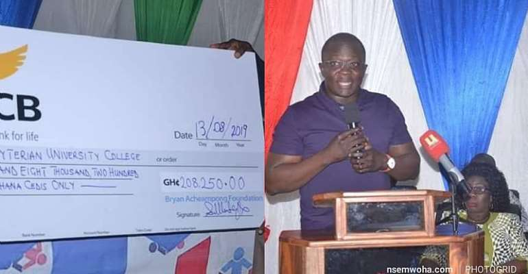 Bryan Acheampong Offers GHC208k Scholarship To 70 Teachers