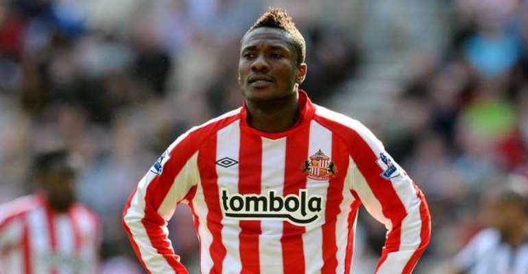 My Name Saved Ghanaians From Losing Their Jobs In England - Asamoah Gyan Reveals
