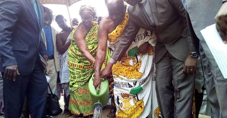 Okyehene, Presbyterian Church Launch Tree Planting Project