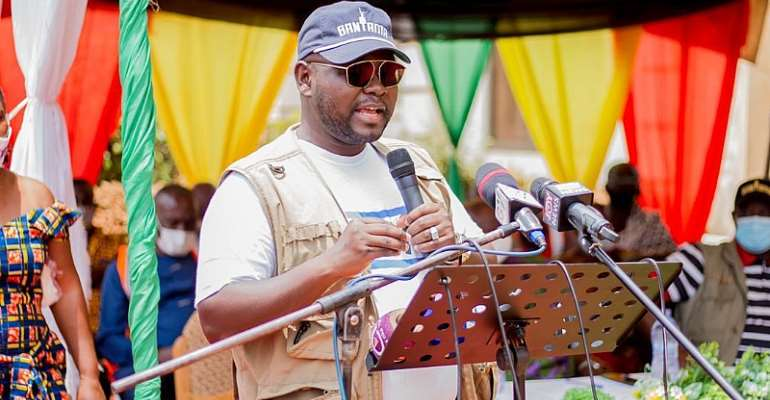 Asenso-Boakye Storms Bantama To Canvass For Votes For NPP