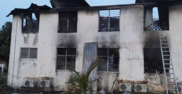 Police Investigates EC Office Fire Outbreak At Sapeiman