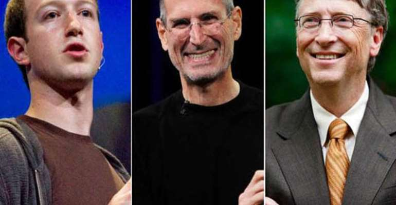 A Lack Of Self-Respect (3) Using Jobs, Gates, And Mark
