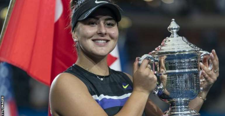 Bianca Andreescu won the US Open on her first appearance in the main draw