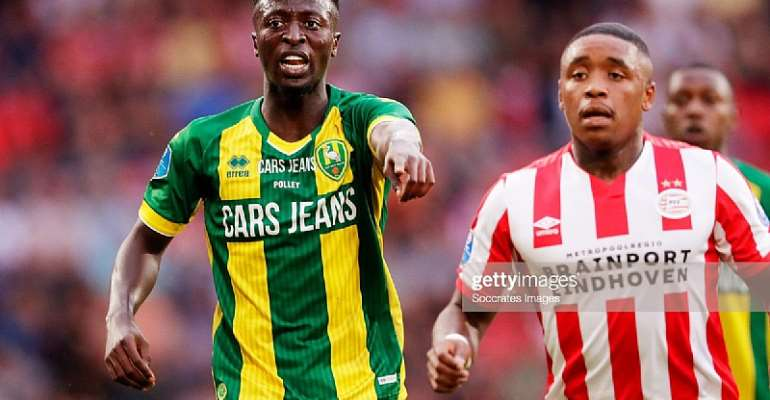 Ghana's Robin Polley Pens Contract Extension With Dutch Side ADO Den Haag