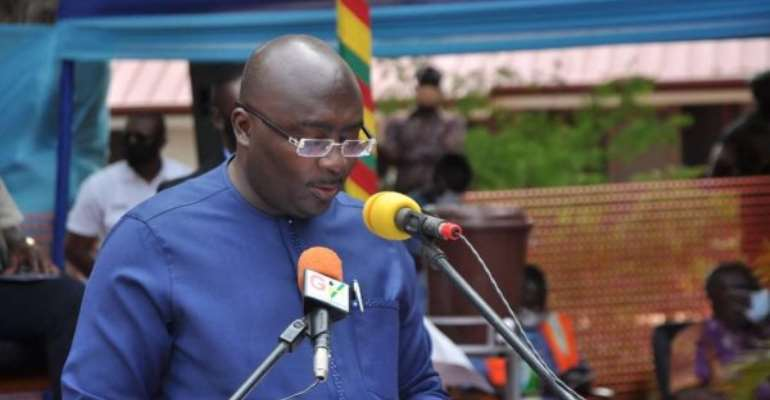 Bawumia Cuts Sod For Construction Of $100 million Accra-Tema Beach Road Improvement Project