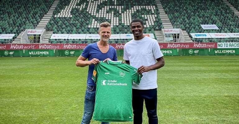 FC St. Gallen Seal Transfer Of Ghanaian Midfielder Kwadwo Duah