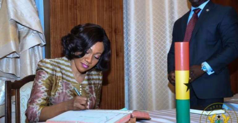 Akufo-Addo Thrashes ASEPA's Petition For Jean Mensa's Removal