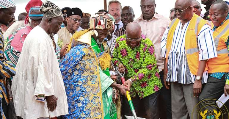 Akufo-Addo Breaks Ground For Phase 2 Of Tamale Airport Project