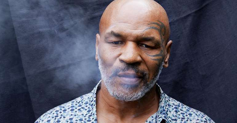 Mike Tyson Smokes Is Way Through $40,000 Of Cannabis A Month