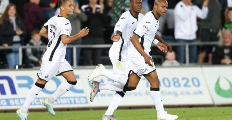 Andre Ayew Ready To Give His Best At Swansea City Despite Future Uncertainty