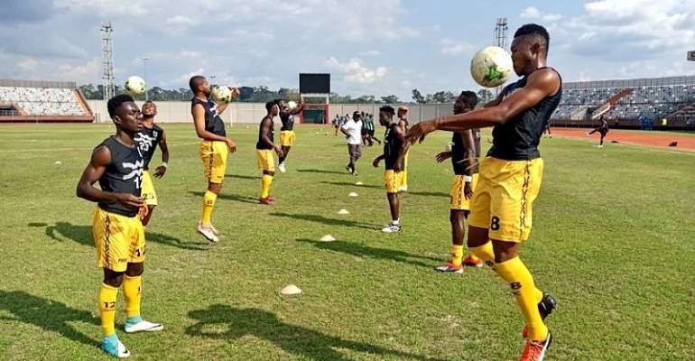 Good News For Ashgold As McCarthy and Nkrumah Recover From Injury For Akonangui Clash