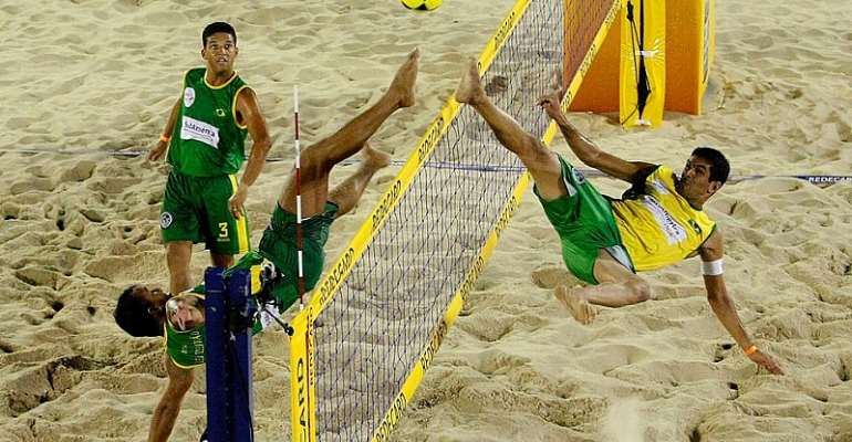 Ghana Footvolley Association To Organise Exhibition Event At Bola Beach On August 31