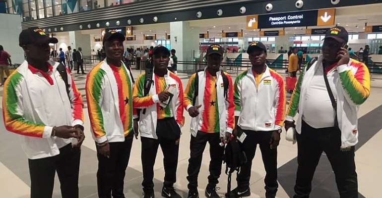 Ghana Judo Team Arrive In Morocco For 2019 Al African Games