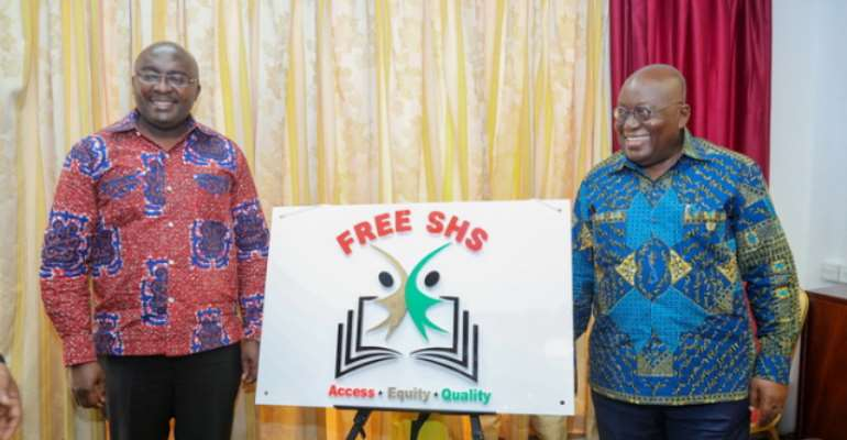 RE: Free SHS Will Not Keep NPP In Power Forever
