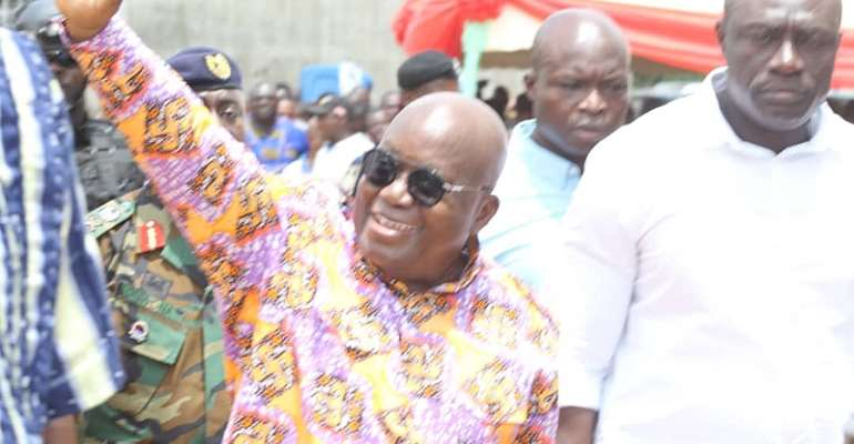 Akufo-Addo Promises Tono Water Project Will Be Completed By July 2021