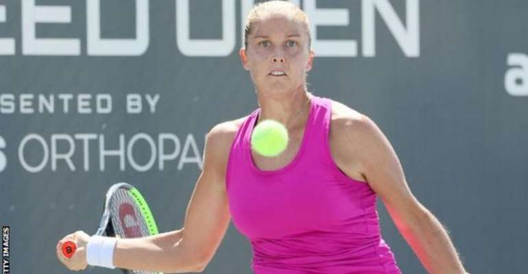 Rogers is the first player outside the world's top 100 to beat Williams since Virginie Razzano at the 2012 French Open