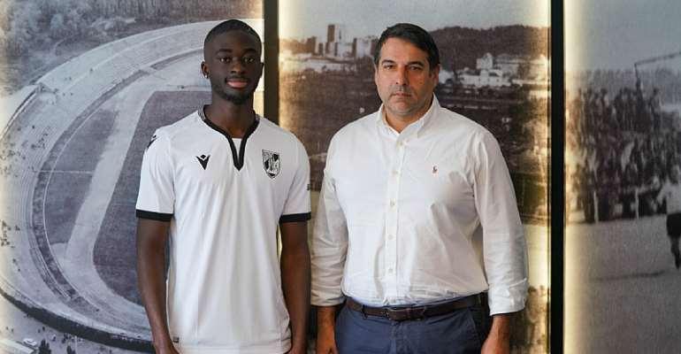 Defender Abdul Mumin Seals Transfer To Portuguese Outfit Vitória S.C