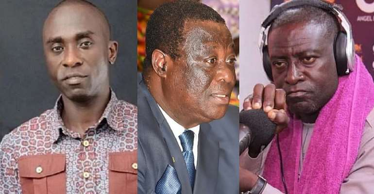 Owusu Bempah reports Captain Smart for allegedly using Roads Minister to extort money