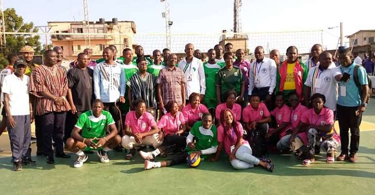 Ghana Wins Africa Zone 3 Volleyball Competition