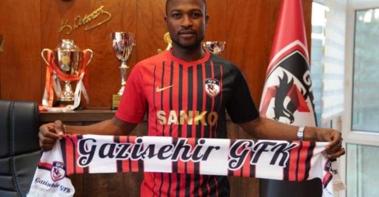 Ghana's Patrick Twumasi Completes Gazişehir Gaziantep FK Loan Move