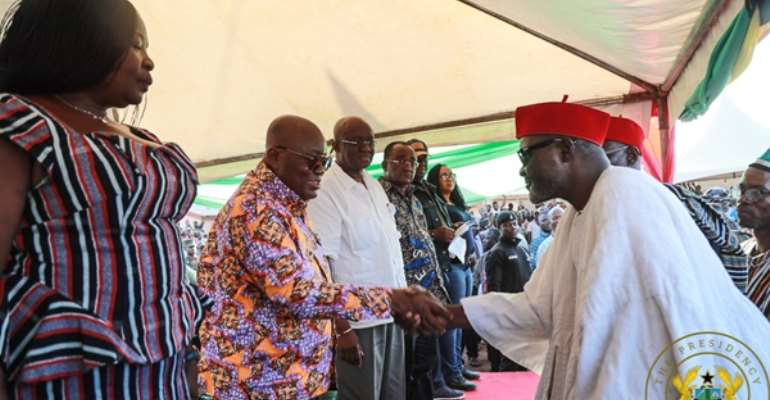 Akufo-Addo Enskinned 'Chief For The Poor And Vulnerable'