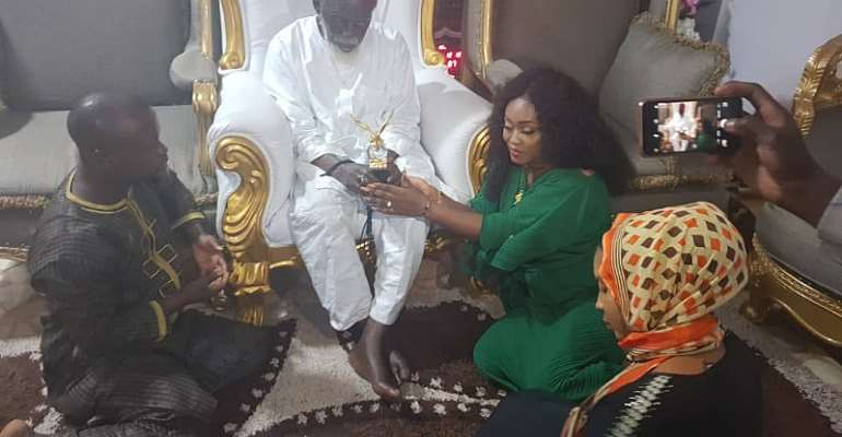 Organisers Of Ghana Actors And Entertainers Awards Pay Courtesy Call On National Chief Imam