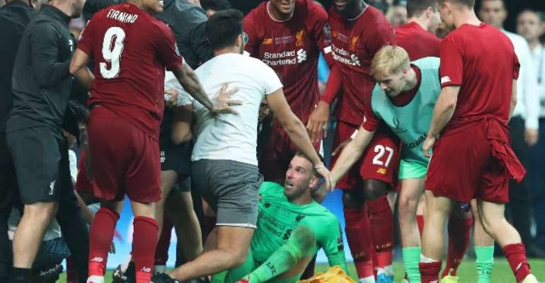 Reds Goalie Could Miss Southampton Game After Pitch Invader Injured His Ankle