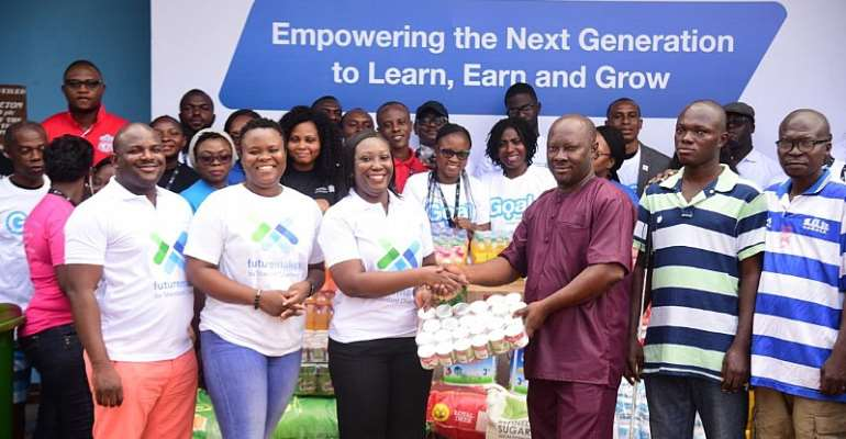 Accra Rehabilitation Center Receives Support From Standard Chartered Bank