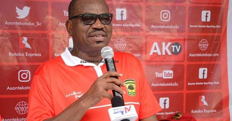 CAF CL: Kotoko CEO George Amoako Tips Club To Eliminate Kano Pillars