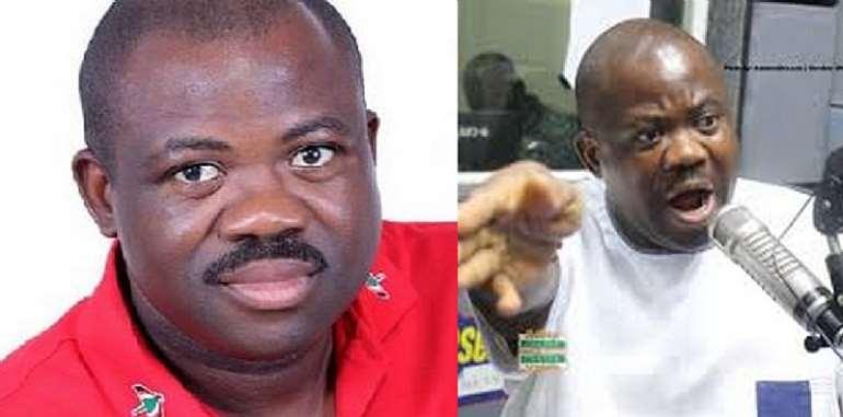 Joshua Hamidu Akamba and Rev Kusi Boateng
