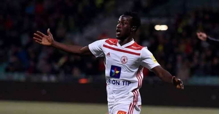 Winger Osman Bukari Suffers Defeat With AS Trenčín Despite Scoring