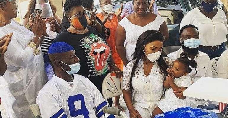 Nana Ama McBrown donates 2000 dollars and provisions to Maame Dokono to mark her 43rd birthday