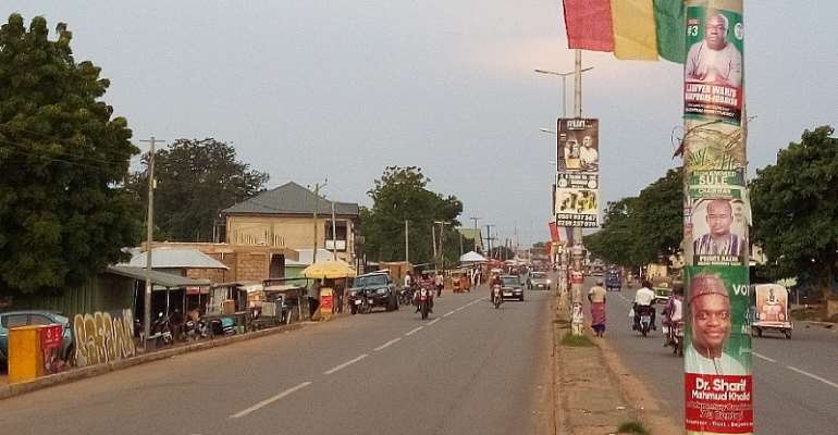 U/W/R: Residents Angry Over The Use Of Guinea Flag To Welcome Akufo-Addo