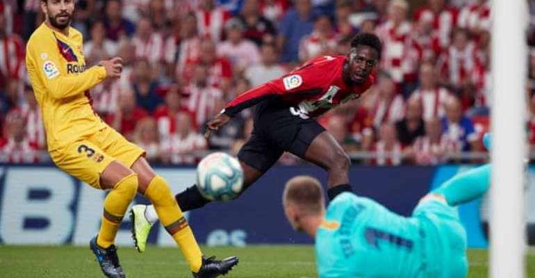 Iñaki Williams Excels As Athletic Bilbao Beat Barcelona In La Liga Opener
