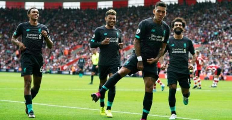 Mane And Firmino Give Liverpol Win At Southampton