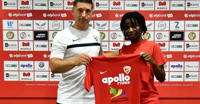 Hasaacas Ladies Defender Regina Antwi Completes Move To Hungarian side Diósgyőri VTK