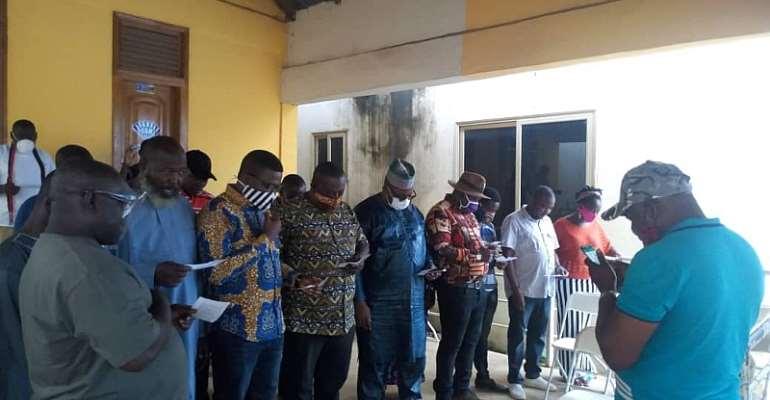 Anyaa-Sowutuom NDC Inaugurates Campaign Team